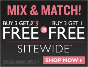 B3G3 FREE + FREE Shipping at The Body Shop