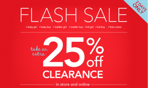 Carters Flash Clearance Sale