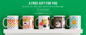 LAST DAY: *HOT* FREE Tiny Prints Mug! ($7.95 Shipping)