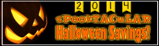 Halloween Savings Logo 2014 Squat Two Airblown Halloween Inflatable Yard Decorations Just $20!