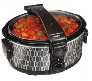 Hamilton Beach Stay-or-Go 6-Quart Slow Cooker Just $19.88