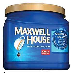 *HOT* Maxwell House Coffee Just $4.79 Each!