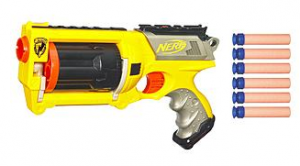 Nerf  Nerf-N-Strike Maverick REV-6 Just $5.99 + FREE Pickup! (Reg $12.99)