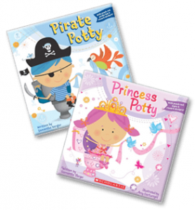 FREE Potty Paper back from Scholastic! (Pirate or Princess)