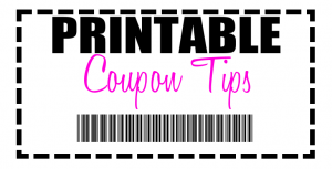 Printable Coupon Tips