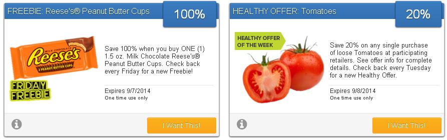 SavingStar Friday Freebie and Healthy Offer