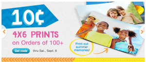 10¢ 4×6 Prints From Walgreens wyb 100 or More!