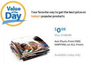 Walmart Value Photo Prints