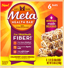 Free Sample Metamucil Meta Health Bar!