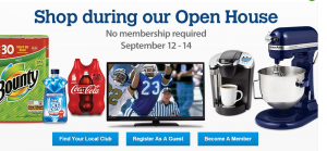 This Weekend Only, No Membership Needed to Shop at Sam's Club!