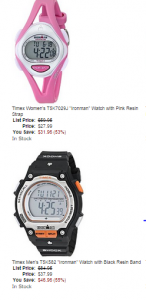Timex Ironman Watches Just $27.99+ Today Only!