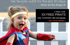 Shutterfly Halloween Surprise: 99 to 101 FREE Prints!