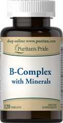 UPDATE: Vitamin B-Complex with Minerals, 120 ct Only $.60 Each SHIPPED!