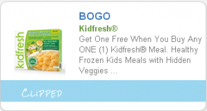 *HOT* BOGO Kidfresh Meal Coupon Stacks with $5/$25 Target Frozen Food Coupon!
