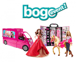 BOGO 50% Off Barbie and BOGO 50% Off Fisher-Price Or Vtech !