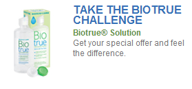 FREE Biotrue Sample for Contact Lens Wearers!