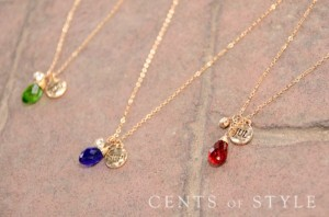 Birthstone Necklaces Only $4.99 + FREE Shipping!