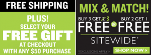 B3G3 FREE Sale + FREE Shipping at The Body Shop!