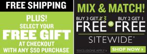 Body Shop Free Ship
