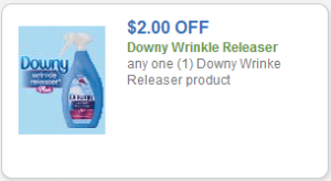 *HOT* $2 Off Downy Wrinkle Releaser = Freebies at Target and Walmart!