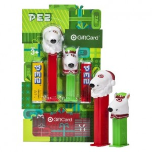 FREE Elf and Santa PEZ With Target Gift Card Purchase!