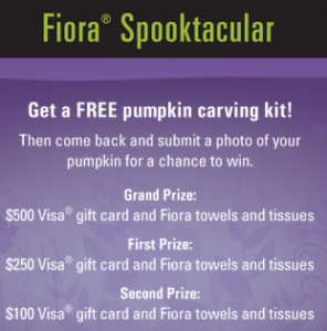 FREE Pumpkin Carving Kit From Fiora!