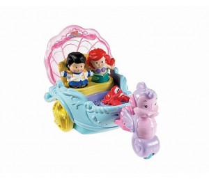 Fisher-Price Little People Ariel's Coach Princess Vehicle Just $12 Today | Over Half Off!