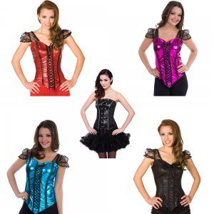 Flirty Halloween Corset Tops Only $4.97! (Originally $15.97)
