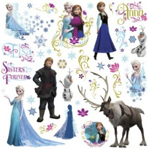 Set of 36 Disney Frozen Wall Decals Just $12 Shipped!