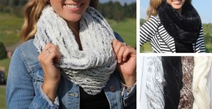 Cozy Fur Infinity Scarves Just $7.99 Shipped!
