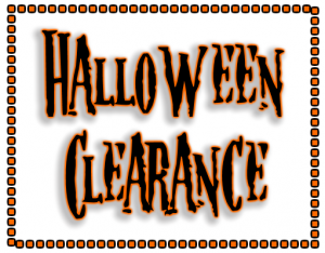 Halloween Clearance Sales