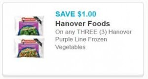 New Hanover Purple Line Frozen Vegetables | Save $1!