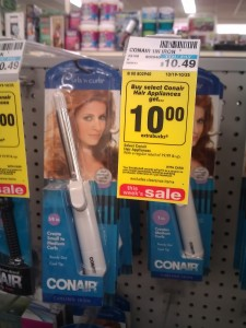 *HOT* Almost FREE Conair Curling Iron at CVS!