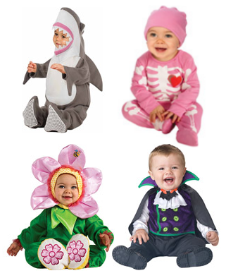 Infant Halloween Costumes on Rollback for $9.97 + FREE Pickup!