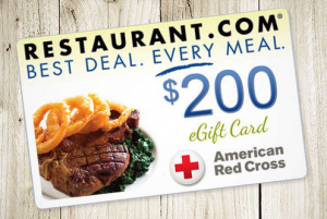 $200 Restaurant.com Gift Card Only $34 With New Living Social Code!