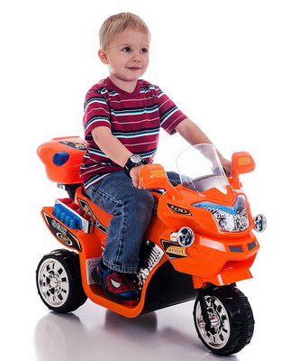 Lil' Rider FX 3 Wheel Battery Powered Bike Just $59.99! (Green or Orange)