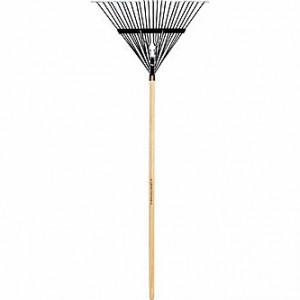 Wood Handled Metal Tine Rake Only $9.99 + Free Pickup — Save $7!