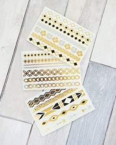 Metallic Temp Tattoos 240x300 Temporary Metallic Tattoos Only $4.95 With FREE Shipping!