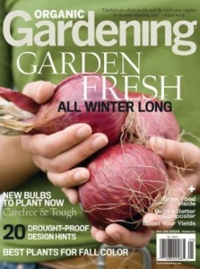 Organic Gardening: 1-year subscription Just $5.99!