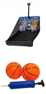 Over the door basketball set