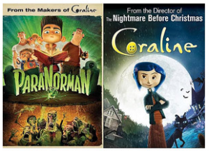 Paranorman and Coraline on DVD—$9.96 for BOTH!