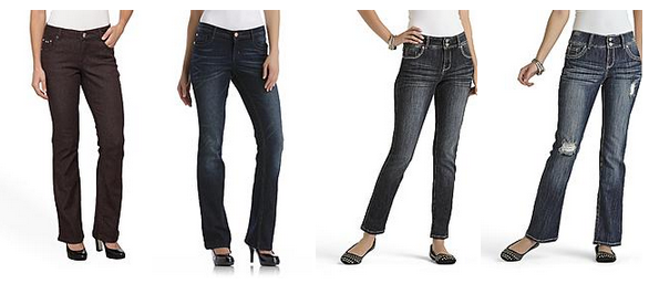 *SUPER HOT!* Women's and Junior's Jeans Just $3.99 + Store Pickup at Sears!
