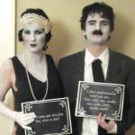 Silent Film Stars Couples Costume Idea