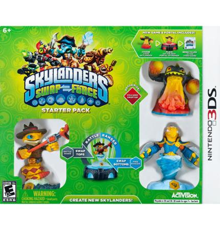 Skylanders SWAP Force for Nintendo 3DS Just $19.99!