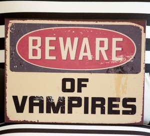 Vampie sign