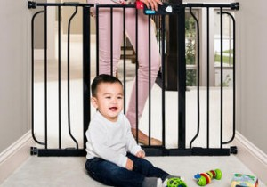 Wide Walk Through Baby Gate Only $33.15 With New 15% Off Living Social Code!