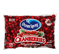 ocean spray cranberries