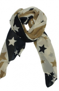 Cute Star Scarf Only $2.98 Shipped!