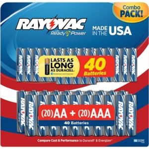 40 Rayovacs