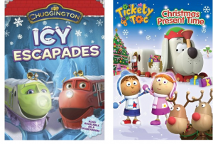 Chuggington and Tickety Toc Xmas DVDs